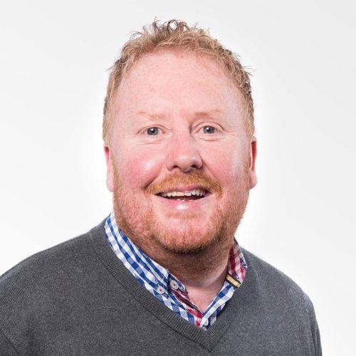 James O'Sullivan, Area Manager - Ireland