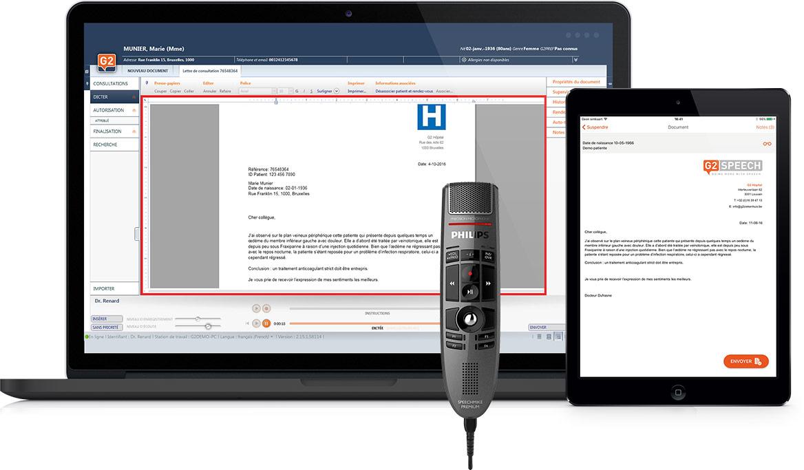 G2 Speech | Solutions | Reconnaissance vocale